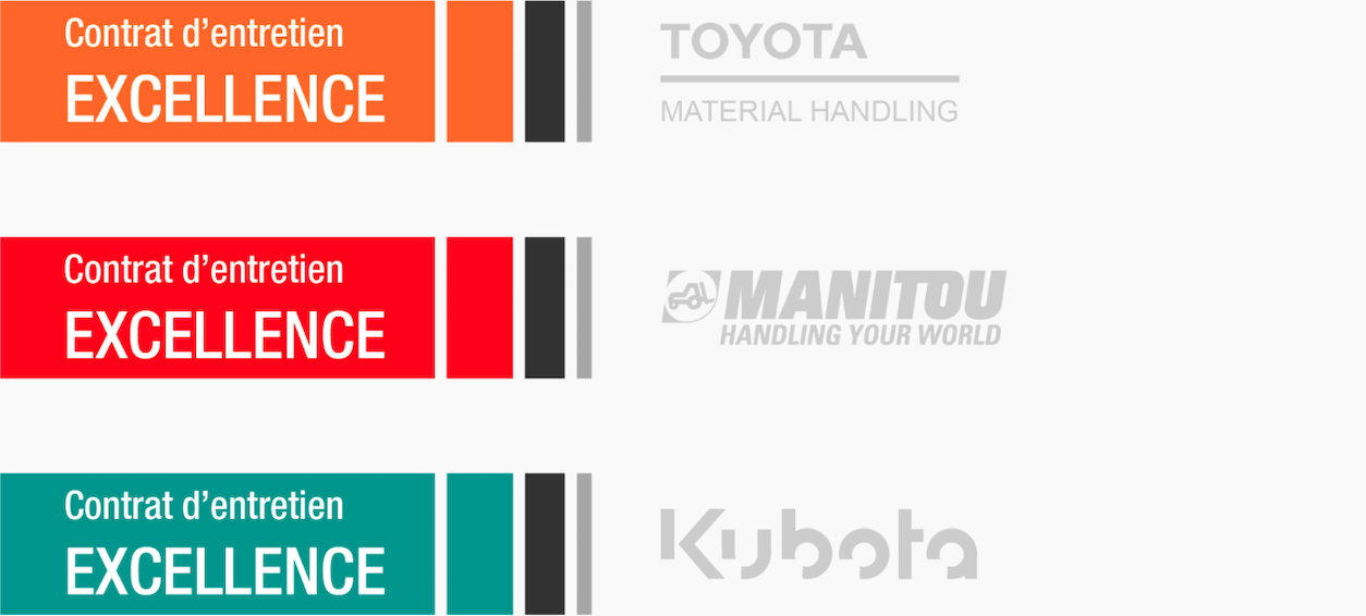 Contrats Excellence Manitou Toyota Kubota